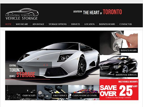 Central Toronto Vehicle Storage