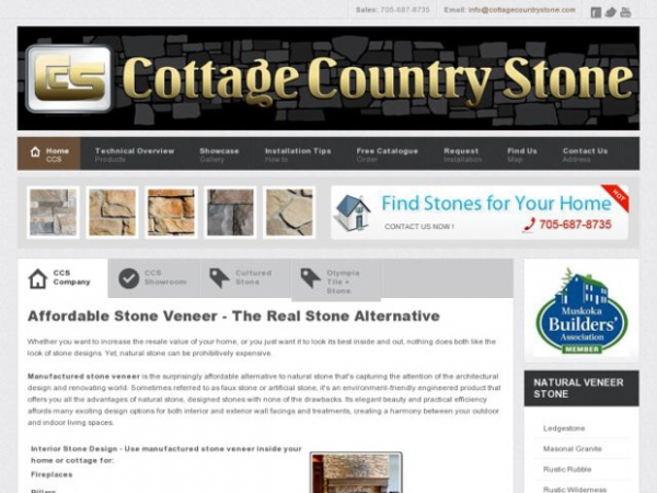 Cottage Country Stone
